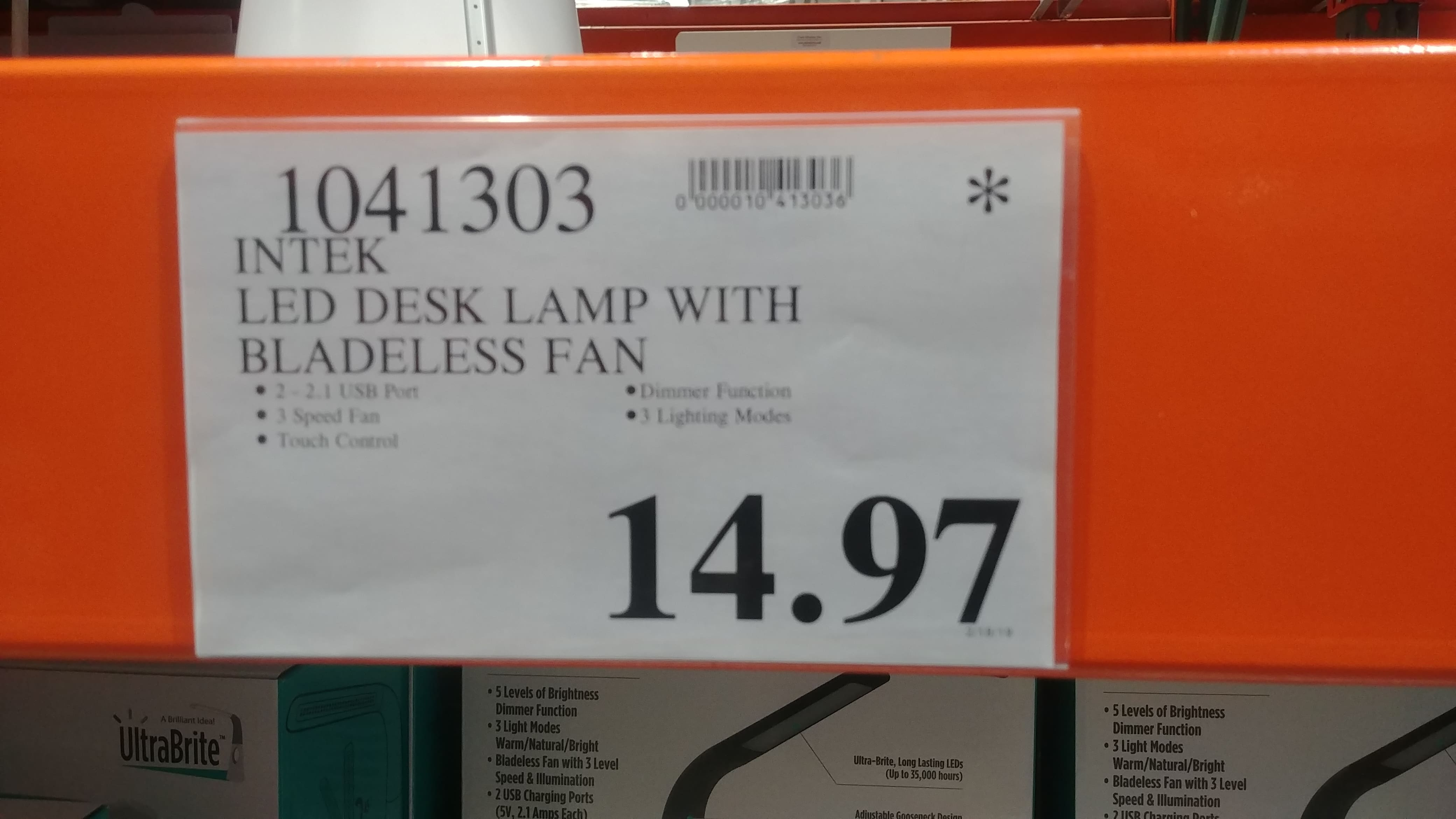 Ymmv Costco In Store Clearance Intek Ultrabright Led