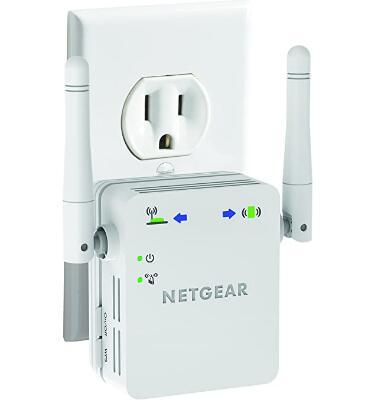 NETGEAR N300 Wall Plug Version Wi-Fi Range Extender $19.99 @ Amazon