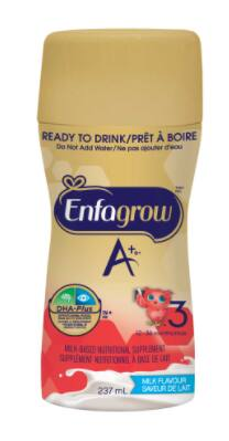 15% off Enfamil's toddler drinks, Enfagrow A+. CANADA ONLY $11.88