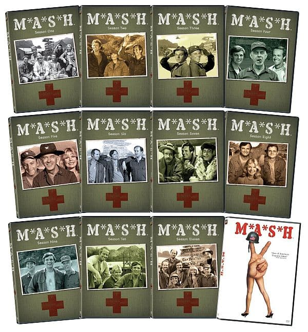 MASH The complete series and movie $54.99