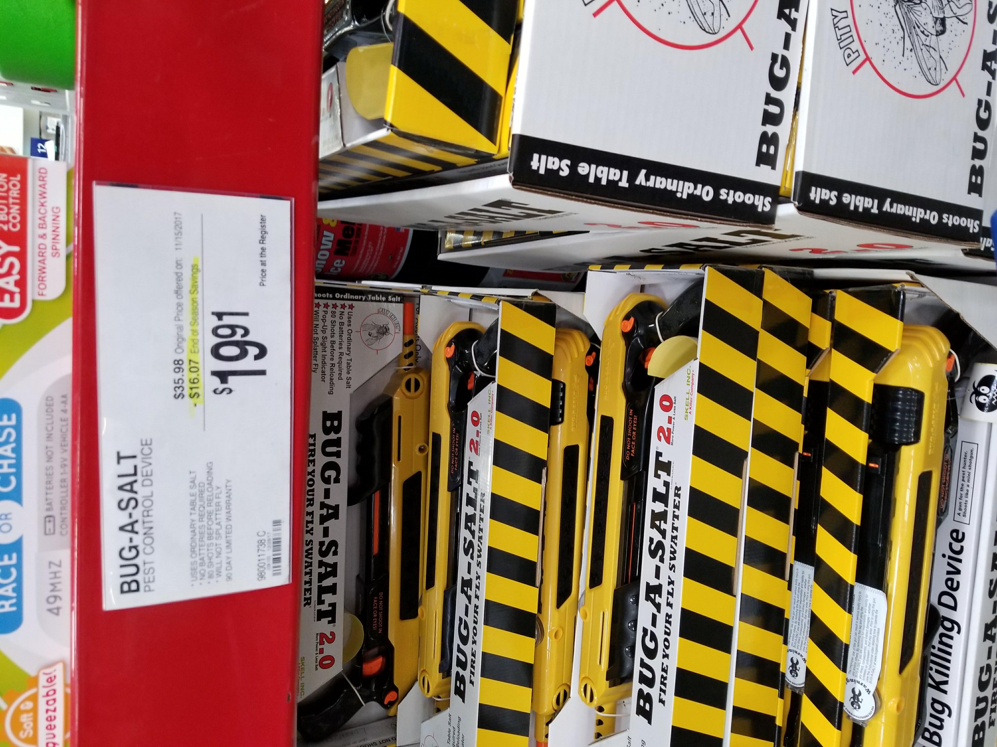 Sam's Club: Bug-A-Salt 2.0 Pest Control Device - Yellow $19.91