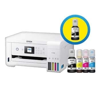 Epson EcoTank 2760 Special Edition All-in-One Printer With Bonus Black Ink - $225