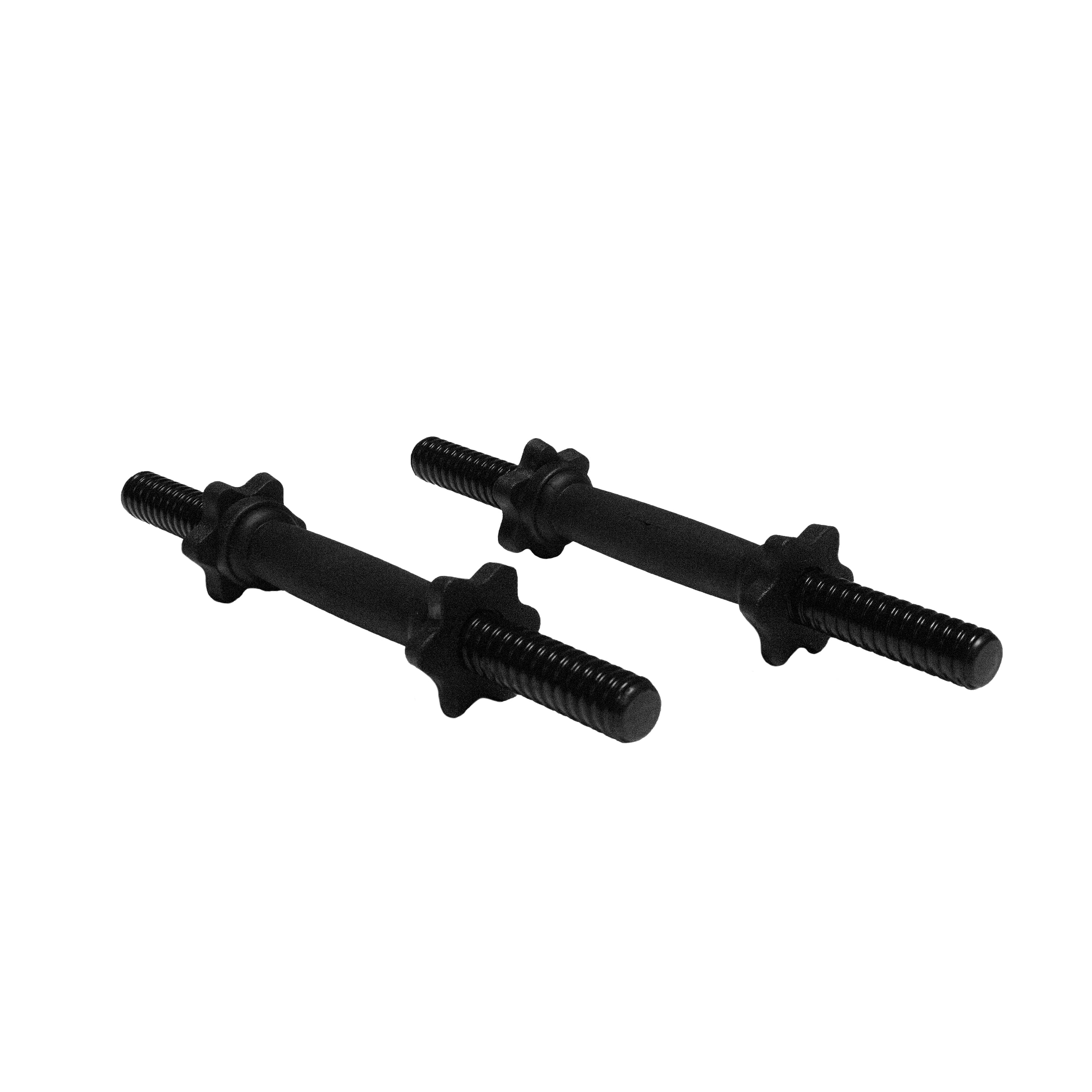 """New /& Fast Free Shipping! CAP Standard Dumbbell Handles 14/"""" Threaded Set of 2"""