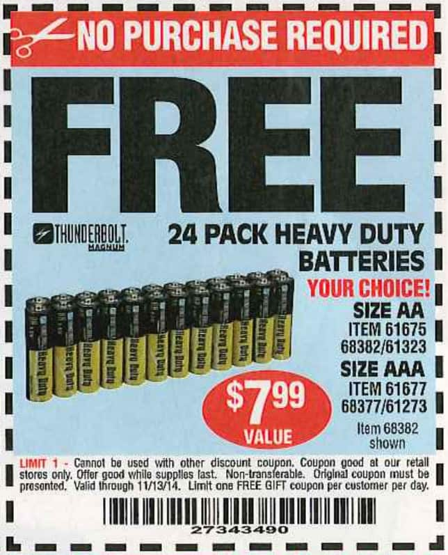 Harbor Freight Coupon Thread Page 608 Slickdeals Net