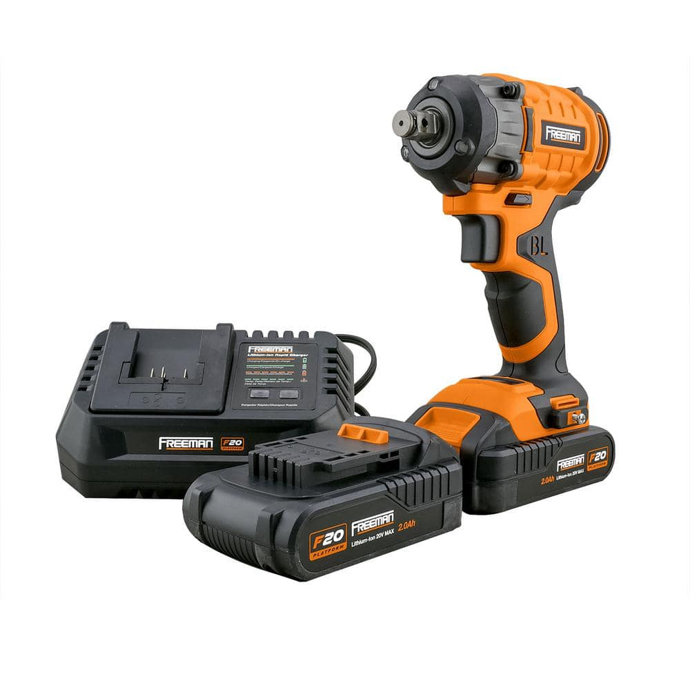 Home Depot 4/15-5/5 tool deals, Free delivery over $45 - 20V Cordless Impact Wrench - $134.88