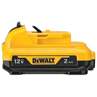 DEWALT 12-Volt Max 2 Amp-Hour Lithium Power Tool Battery $20.99 @ Lowes