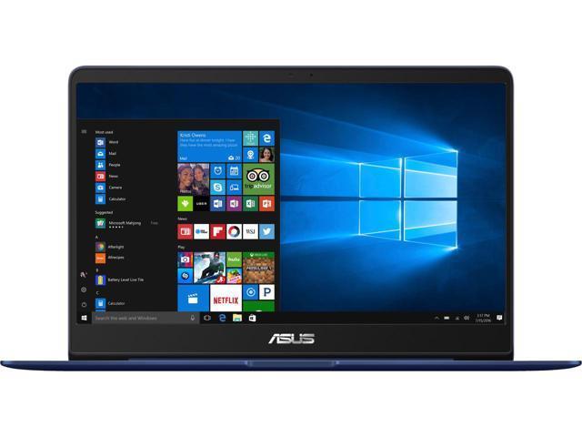 ASUS ZenBook14 UX430UN-NB71: i7-8550U, 8 GB LPDDR3, 256 GB SSD, NVIDIA GeForce MX150 $809.99