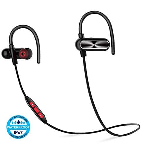 0f04f92d1cf IPX7 Waterproof Bluetooth Headphones-Best Wireless Stereo Earbuds with 12  Hour Battery $14.99 - Slickdeals.net