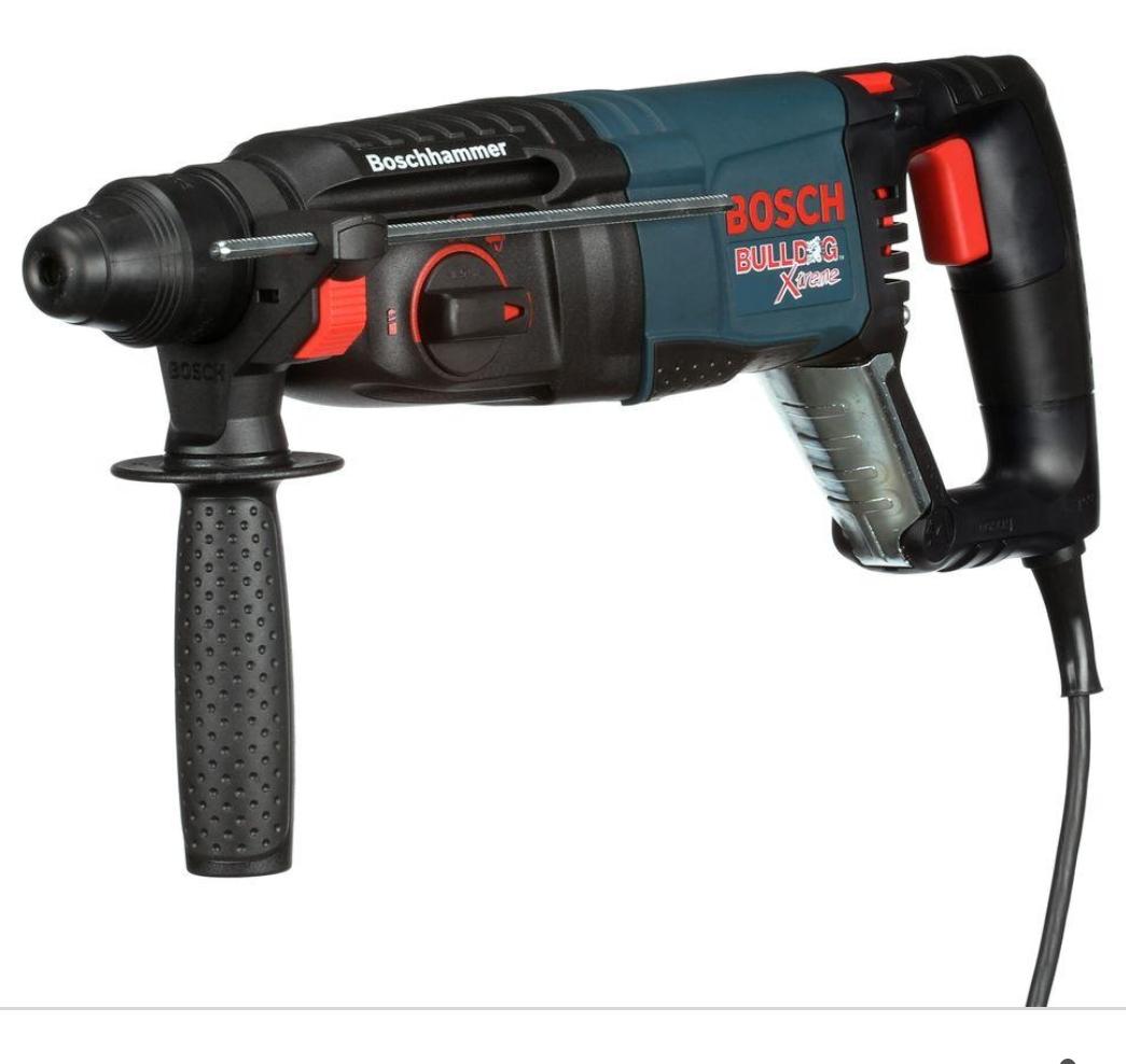 Bosch BULLDOG Xtreme SDS-plus Rotary Hammer (Certified Refurbished)