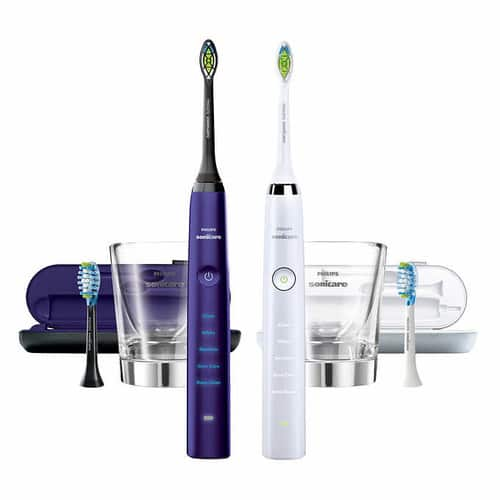Philips Sonicare DiamondClean Rechargeable Toothbrush, 2-pack $149.99