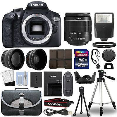 Canon Rebel T6 DSLR bundle w/ 18-55mm lens, 16gb sd card, tripod, bag and more - $349.99 + FS sold by redtagcamera @ Ebay