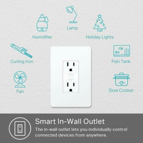 TP-Link Kasa KP200 2-Outlet Smart Plug $21.59
