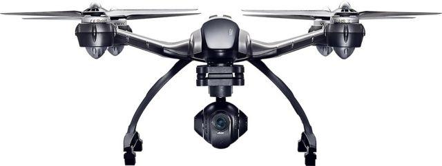 Yuneec Q500 4K Typhoon Quadcopter Drone RTF ($399.99), CGO3 Camera, ST10+ & Steady Grip