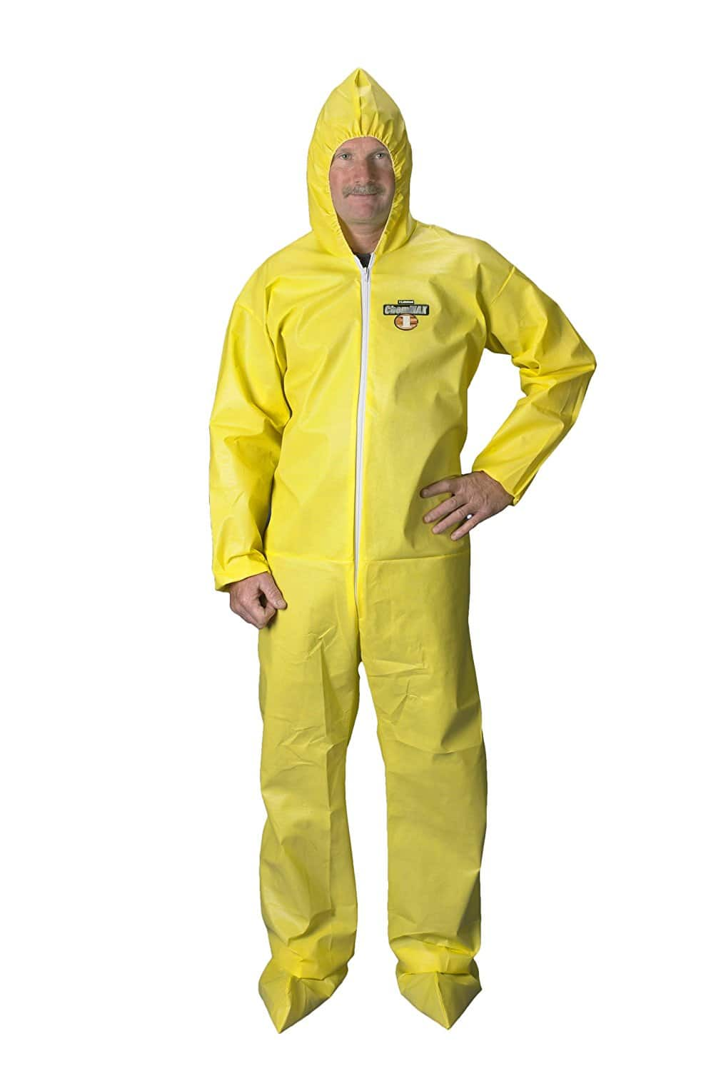 Lakeland ChemMax 1 Chemical Coverall with Hood and Boots - Case of 25 for $99 ($4/each) - FS with Prime - 2XL/3XL only