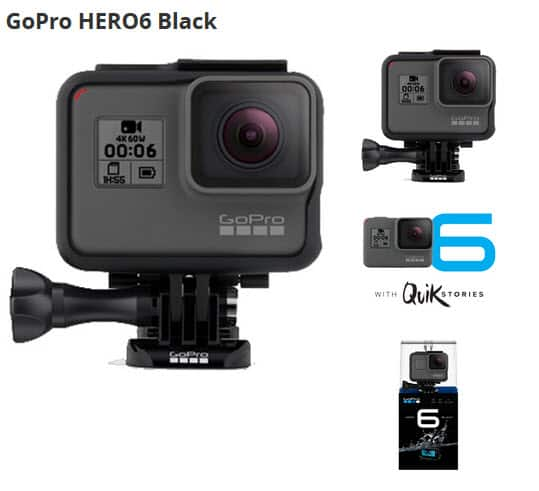 Go Pro Hero6 $379 Free FedEx Shipping