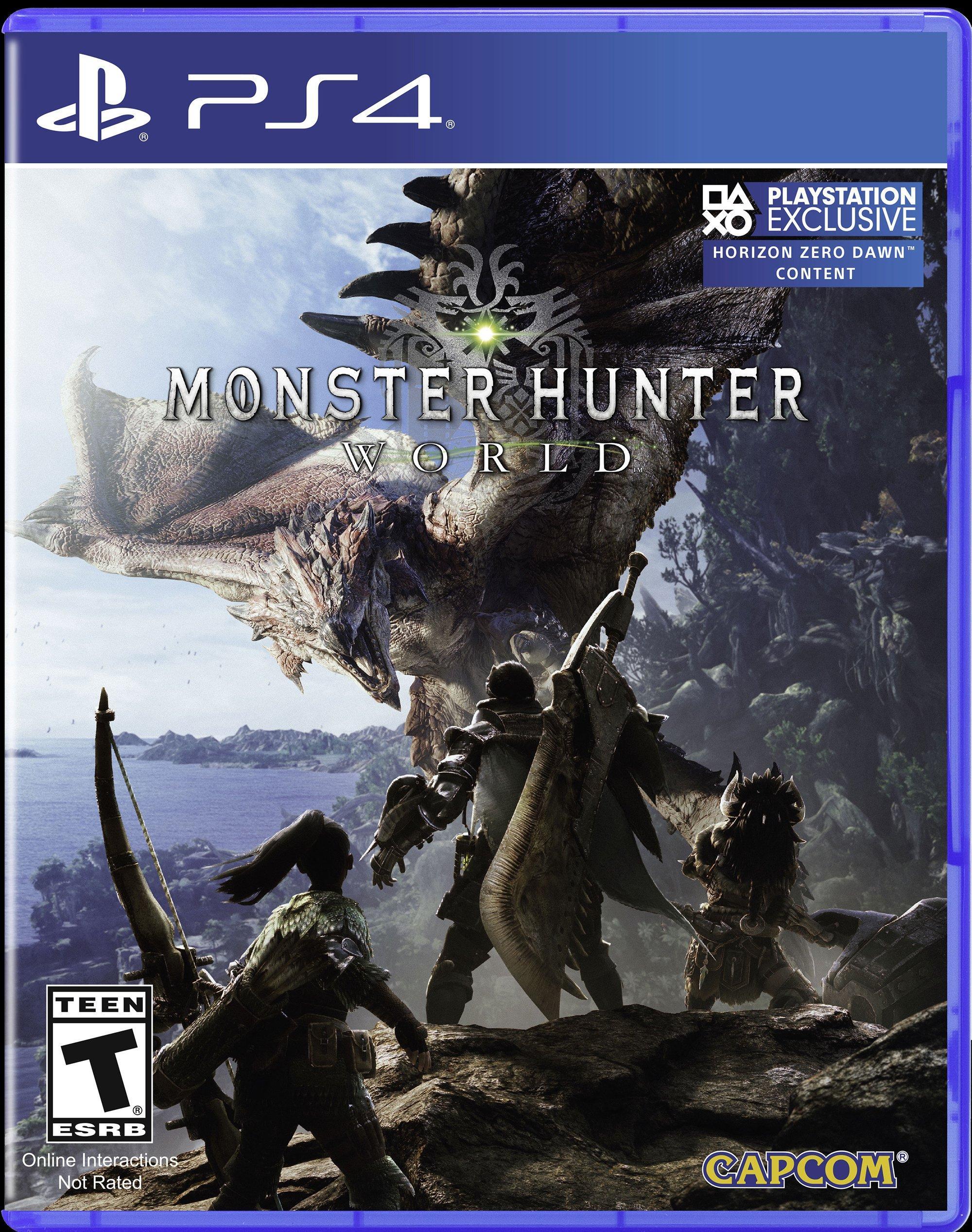 Monster Hunter: World | PlayStation 4 | Xbox One | GameStop $7.99