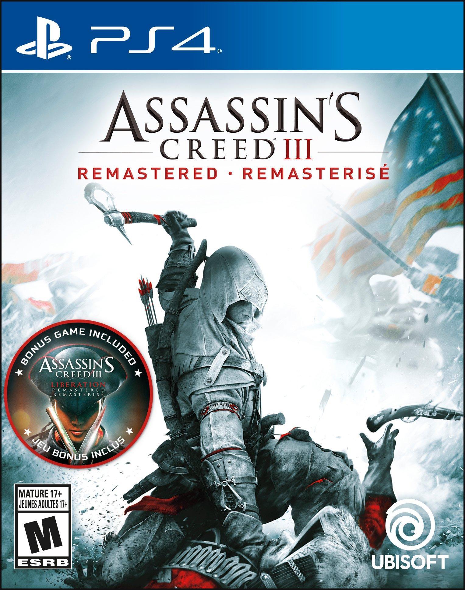 Assassin's Creed III Remastered | PlayStation 4 | GameStop $14.99