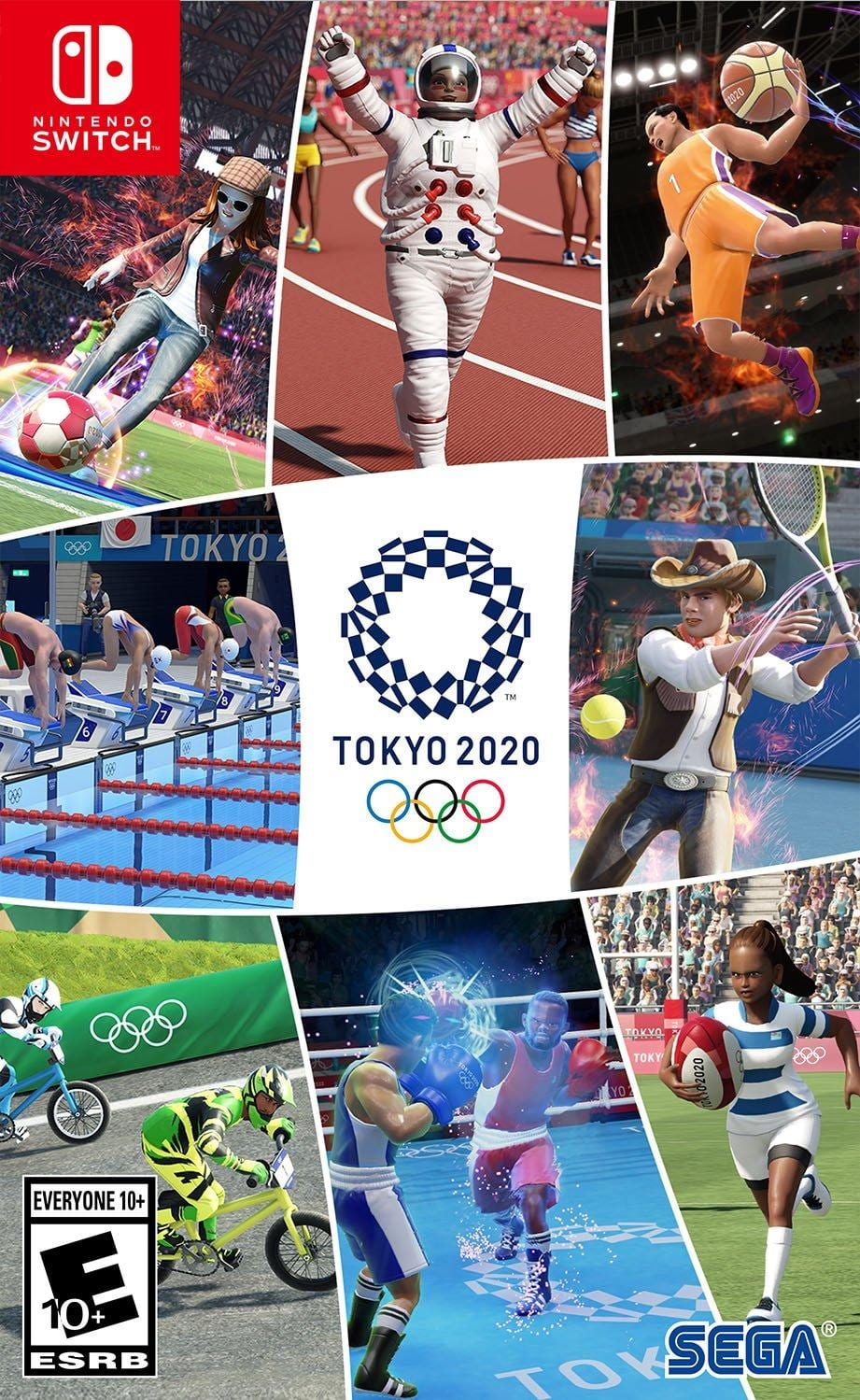 Tokyo 2020 Olympic Games for Nintendo Switch, PS4 or Xbox One   GameStop $24.99