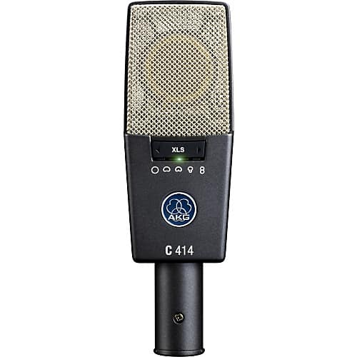 AKG C414 Microphone, your choice of XLS $774 or XLII, $799 at Sweetwater and Musicians Friend.