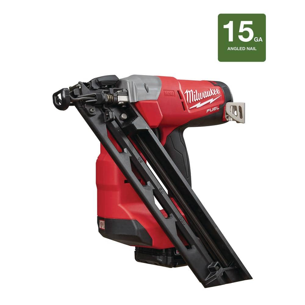 Milwaukee FUEL 2743-21CT 15 Gauge Brad Nail Gun B&M YMMV $100 ...