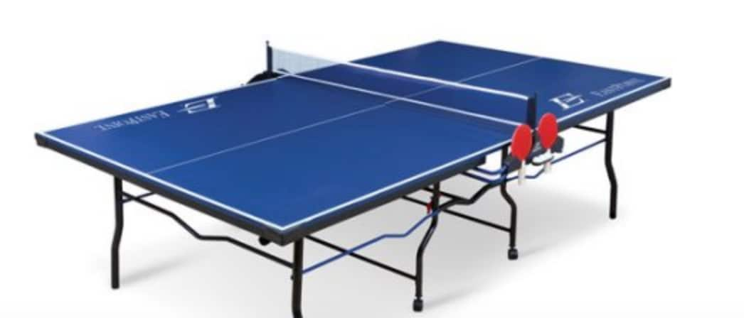 EastPoint Ping Pong Table Tennis 2 piece $69.41 (reg. $249.99) at Walmart Free Ship to Store