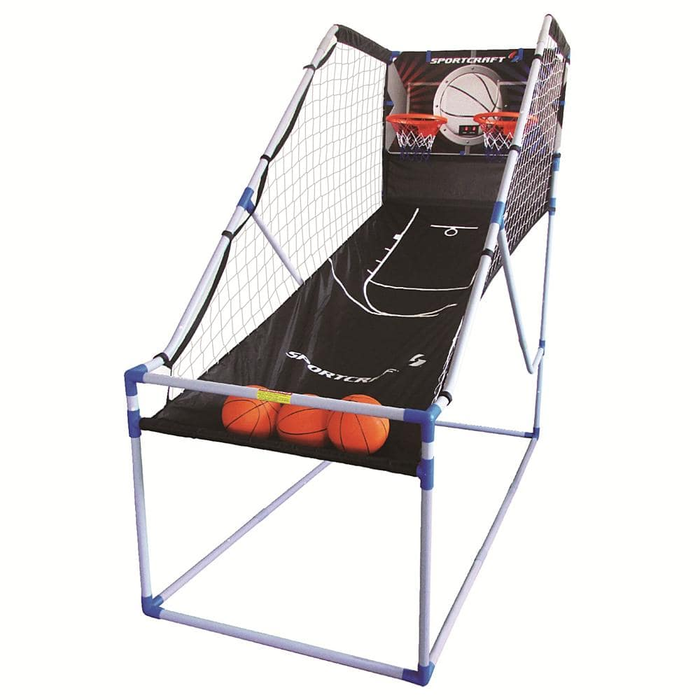Sportcraft Double Shot Electronic Basketball Arcade Game $29.99 (reg. $80) at Kmart. SYWR eligible