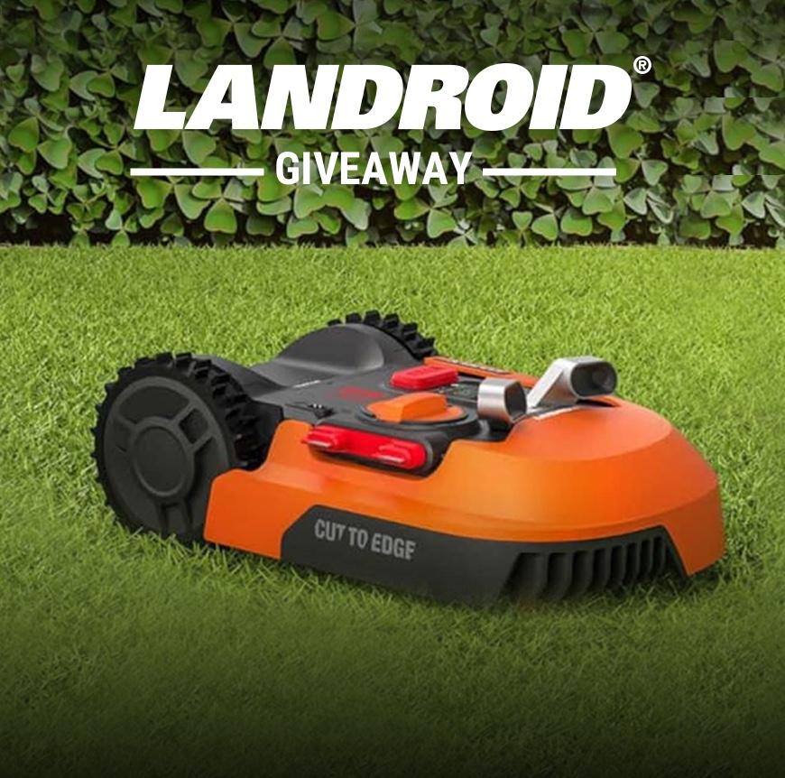 Win a Worx Landroid robotic lawn mower. $0