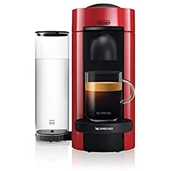 Nespresso VertuoPlus Coffee and Espresso Maker by De'Longhi, Red - $98.96 + Free Shipping