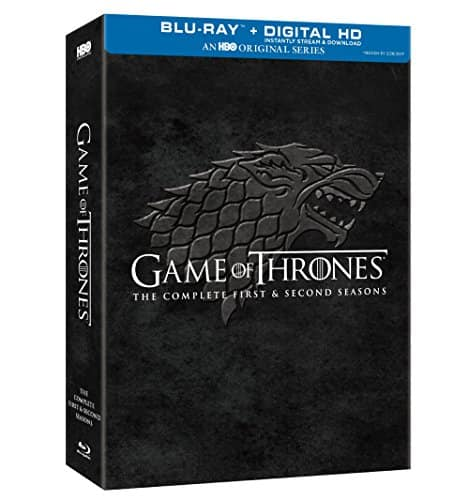 Game of Thrones: Complete First & Second Season [Blu-ray]: $36.99