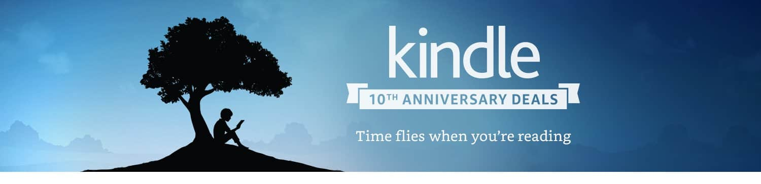 Kindle 10th Anniversary Deals