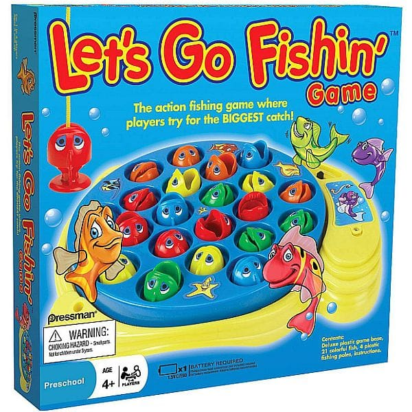 Let's Go Fishin' Board Game: $6.59