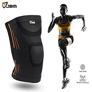 53531fe809 JBM Adult GYM Knee Braces Support Compression Sleeve Patella Wrap Band Knee  Stabilizer Safe Pain Relief for Weightlifting Power Lifting Fitness  Exercise ...