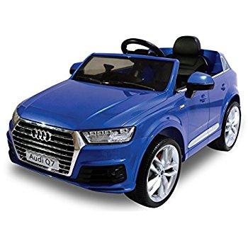 Kid Motorz 2016 Audi Q7 One Seater Car, Blue: $109.50