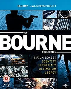 Bourne Collection - 4 film collection [Blu-Ray + UV code]: $14.99