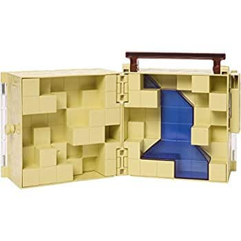 Mattel Minecraft Mini Figure Collector Case: $13.59