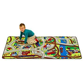 Extra Large Learning Carpets Ride The Train LC 142: $18.72