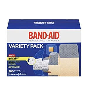 Band-Aid Brand Comfort-Flex Adhesive Bandages For An Active Lifestyle, Variety Pack, 280 Count: $8.94