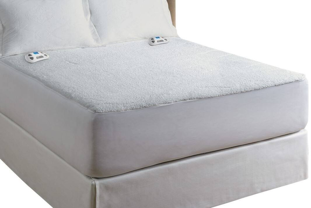 Amazon Serta Heated Electric Sherpa Mattress Pad with Programmable Digital Controller, Queen,  $25.73 + tax