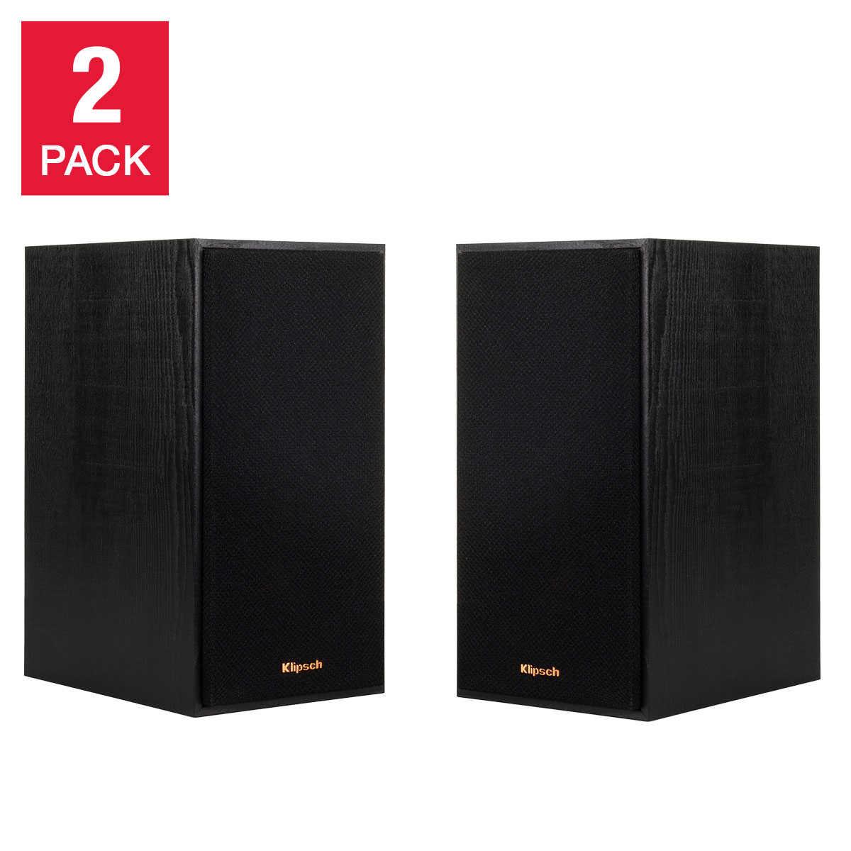 Klipsch Bookshelf Speakers R-41M (pair) $89.99