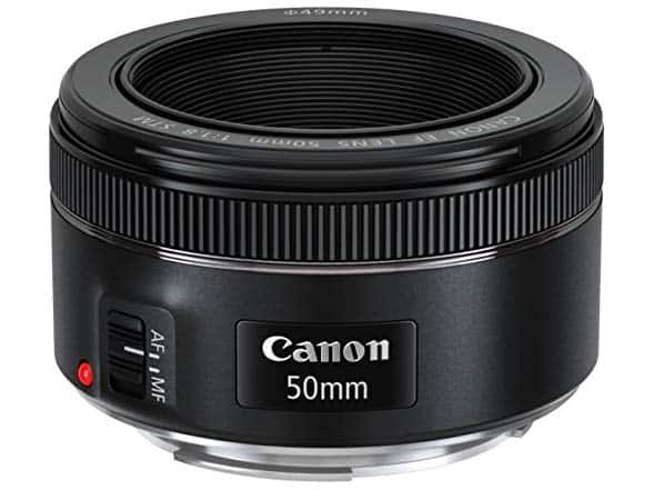 Canon EF 50mm f/1.8 STM Lens $73.68