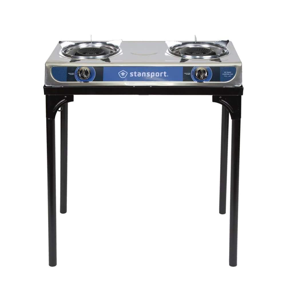 StanSport Portable Dual Fuel Camp Stove-213 - $39.99 at Home Depot