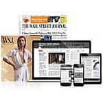 Wall Street Journal 9 months Print Subscription Plus Full Digital Access $19.98 on Bonanza