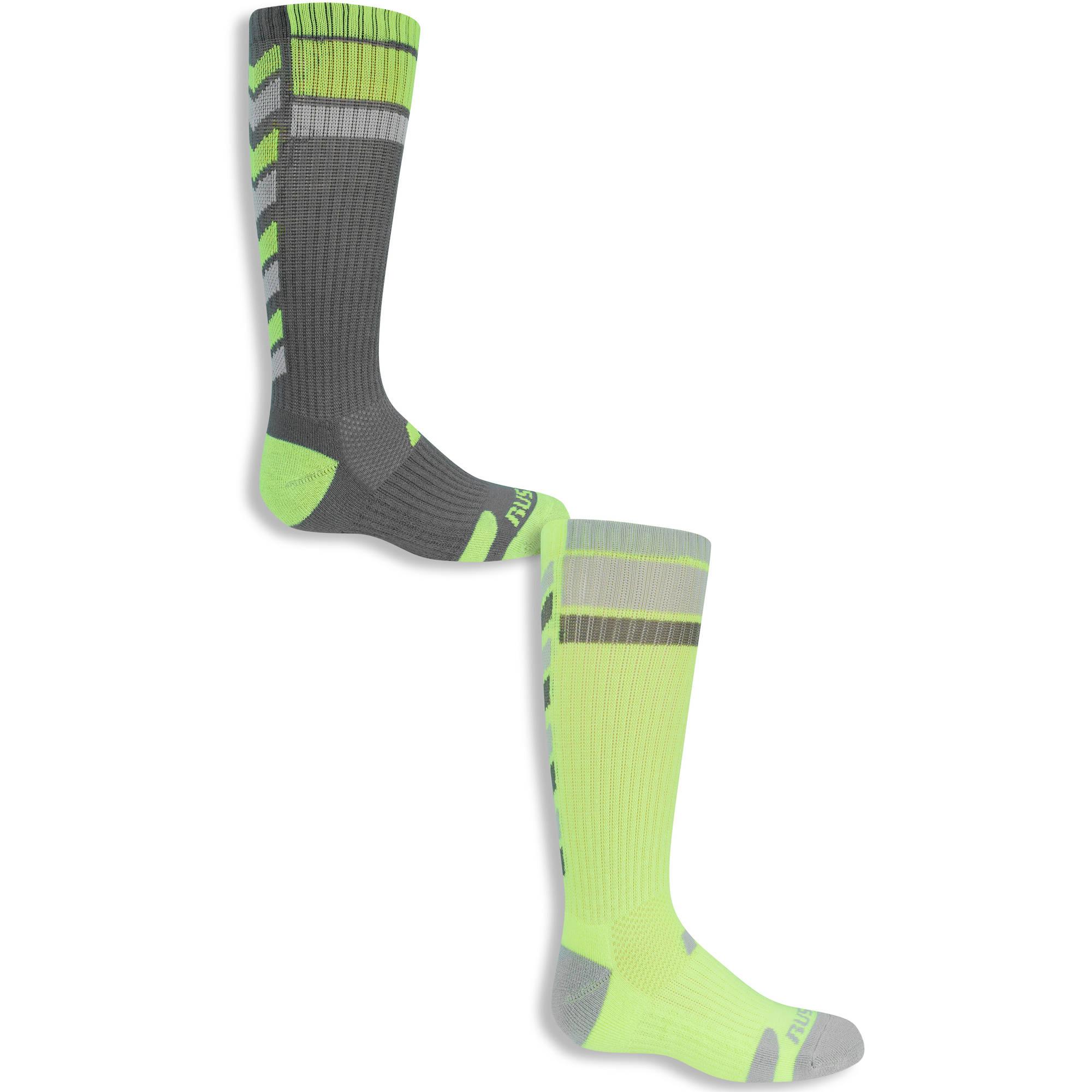 Chevron Crew Socks, 3 Pairs (Big Boys) YMMV $1.5