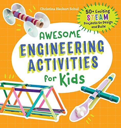 Awesome Engineering Activities for Kids: 50+ STEAM Projects (Paperback) $7.29 at Amazon