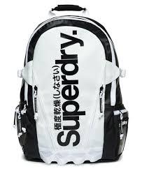 Costco Members: Superdry Mono Tarp Backpack (White) $44.99