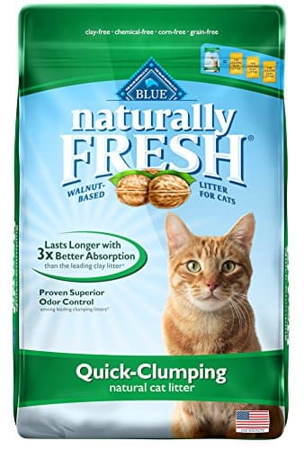 Naturally Fresh Walnut Clumping Cat Litter Unscented, 14lb Bag $8 or Less w/ S&S