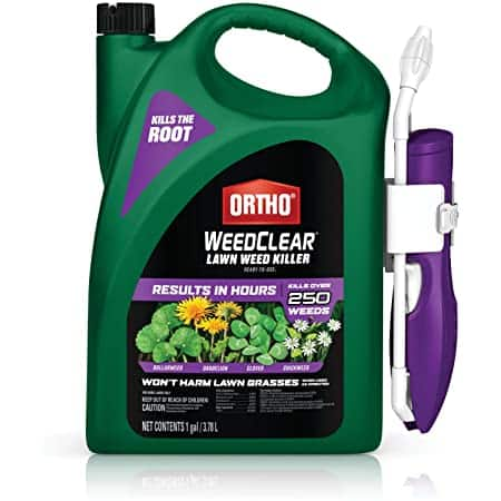 Ortho WeedClear Lawn Weed Killer Ready to Use1 with Comfort Wand: For Southern Lawns 1 gal. $6.58