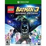 LEGO Batman 3: Beyond Gotham: PS4, Xbox One or Wii U $20, PS3  $10