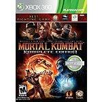 Mortal Kombat Komplete Edition (360) $15