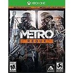 Metro Redux (X1/PS4) $20